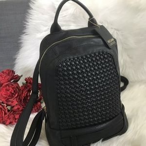 NWT MMS DESIGN STUDIO VEGAN BACKPACK SHOULDER BAG